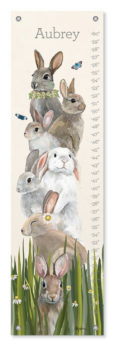 9379: Growth Chart - Bunny Bunch (Product Detail)