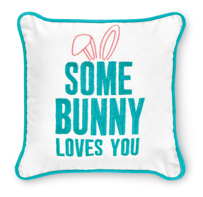9396: Some Bunny Pillow (Product Detail)