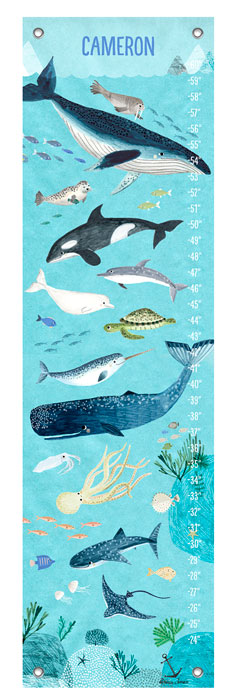 1014: Growth Chart - Deep Sea (Product Detail)