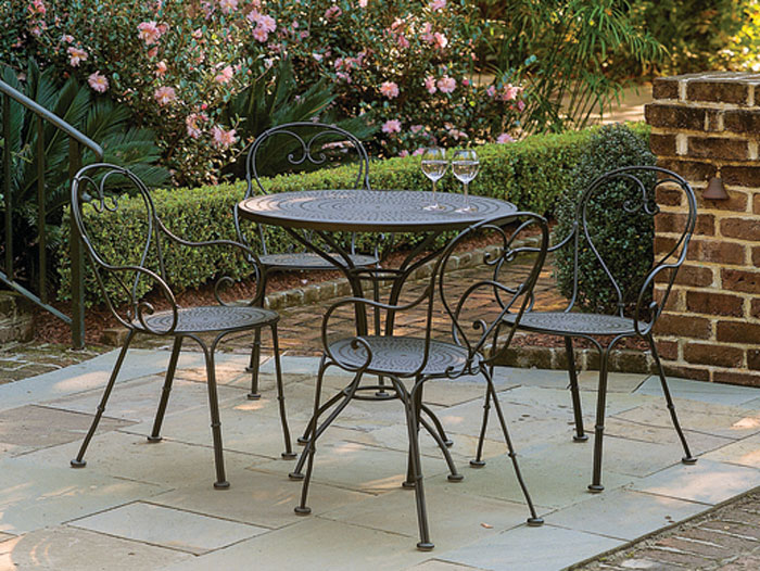 4104: French Bistro Set - Four Chairs (Product Detail)
