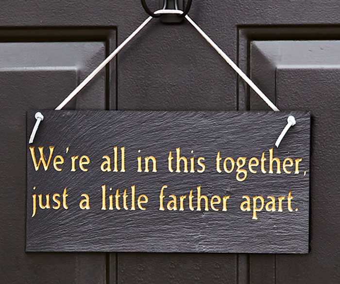 2037: All Together Sign (Product Detail)