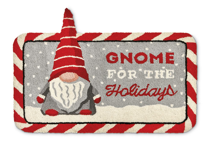 1297: Gnome for the Holidays Rug (Product Detail)