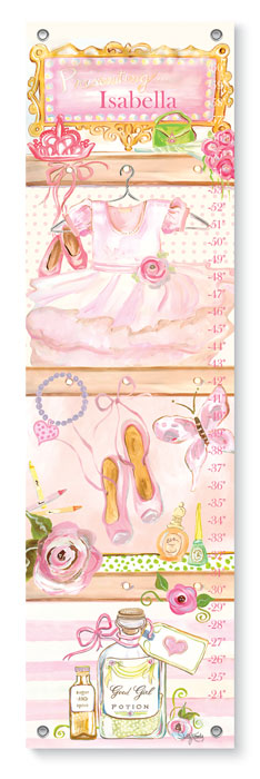 1480: Growth Chart - Ballerina (Product Detail)