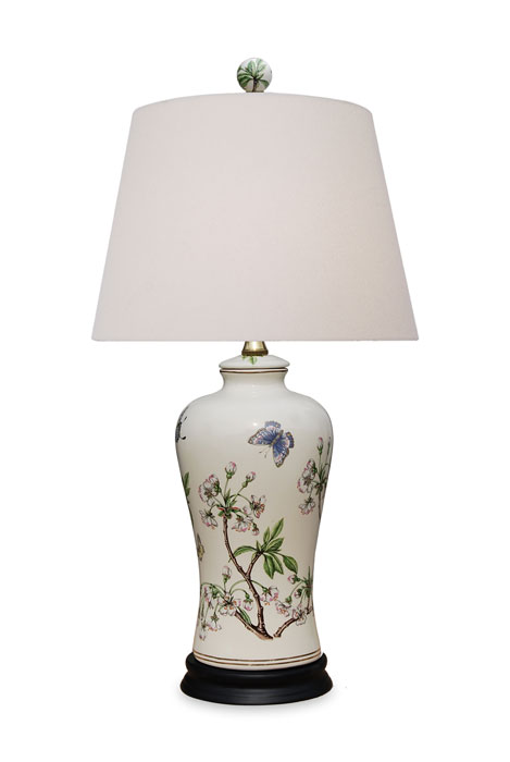 9694: Cherry Blossom Vase Lamp (Product Detail)