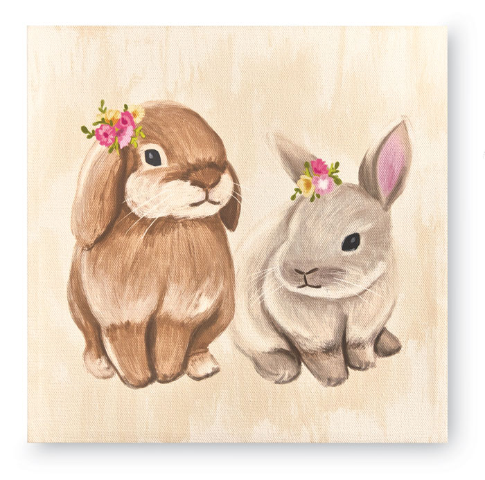 970399: Sweet Bunnies Wall Art - Sample (Product Detail)