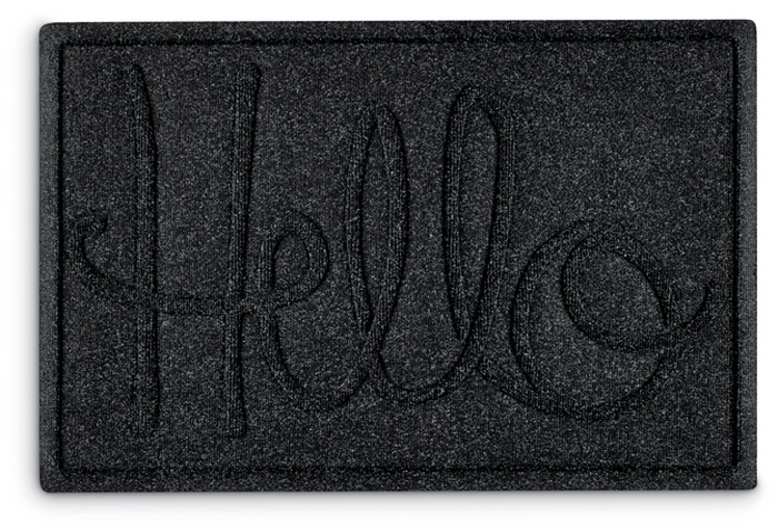 778999: Hello Mat - Sample (Product Detail)