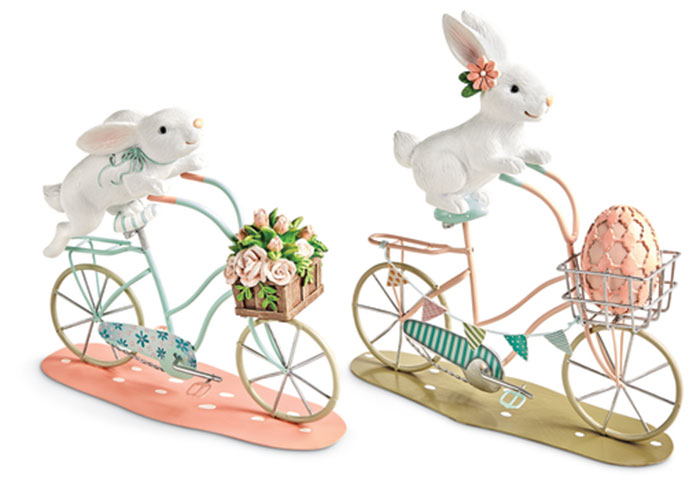 1156: Biking Bunnies (Set of Two) (Product Detail)
