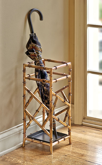 5682: Iron Bamboo Umbrella Stand (Product Detail)