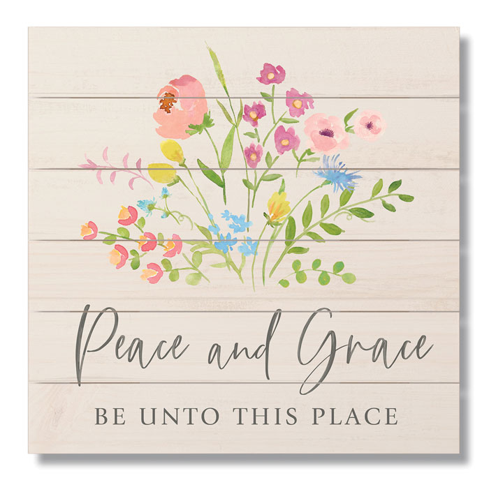 9112: Peace and Grace Sign (Product Detail)
