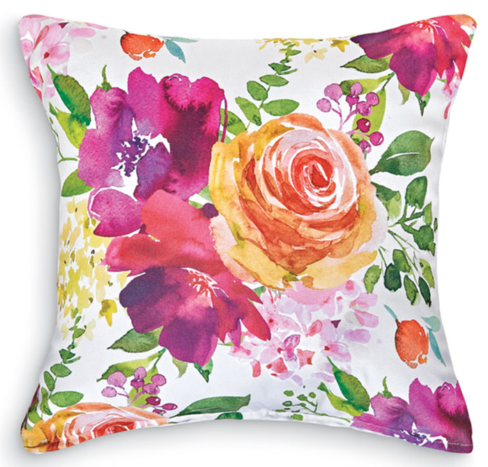 4786: Flower Market I Pillow (Product Detail)