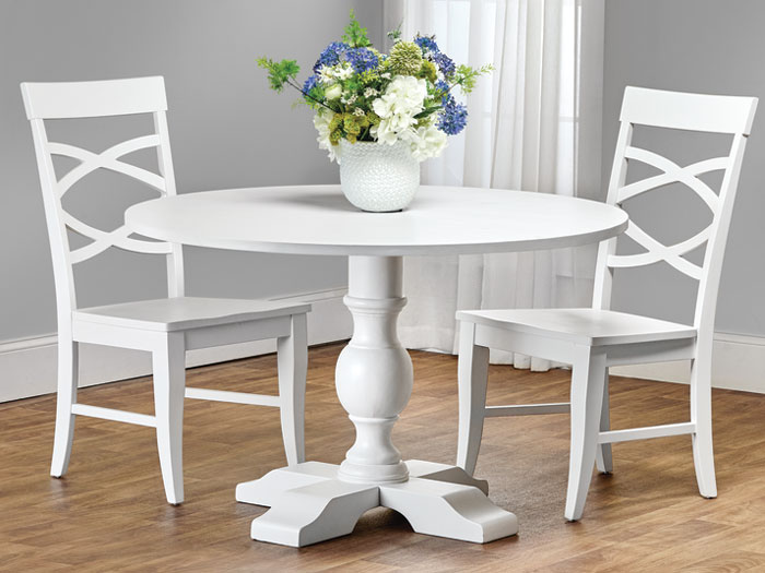4941: Painted Round Pedestal Table (Product Detail)