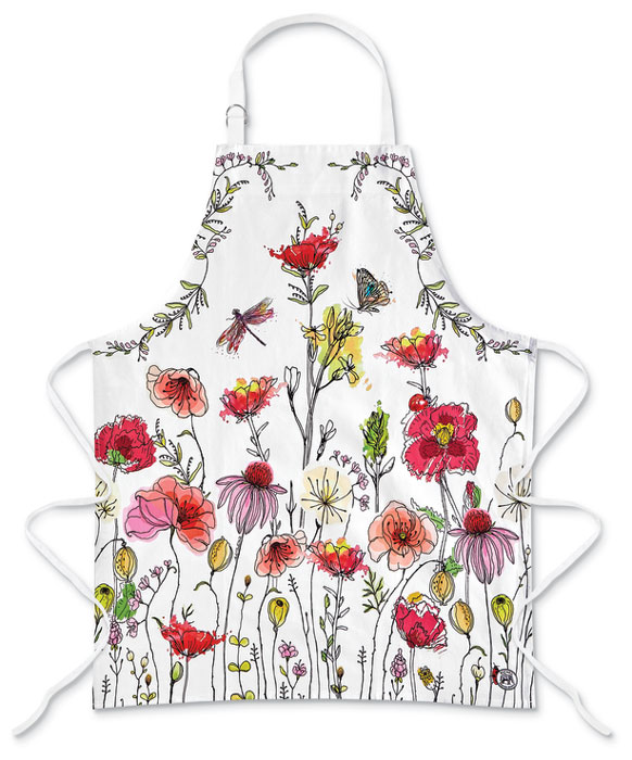 2147: Posies Apron (Product Detail)