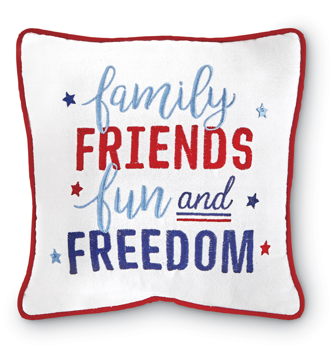 4164: Family Friends Pillow (Product Detail)