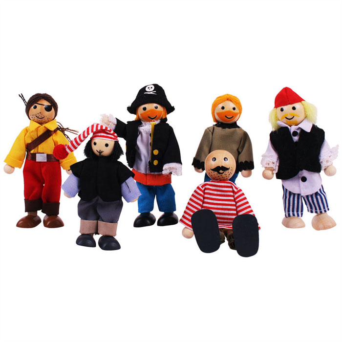9986: Pirates (Set of Six) (Product Detail)