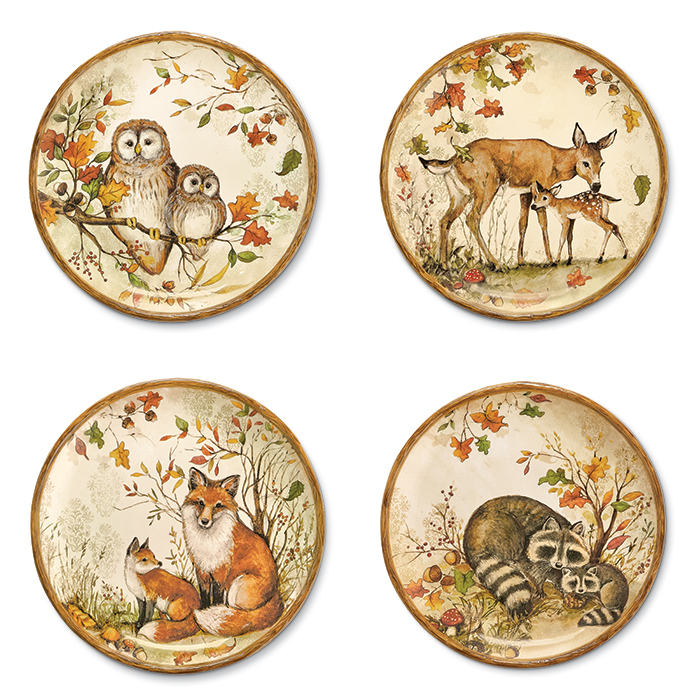 6699: Forest Animals Plates (Product Detail)