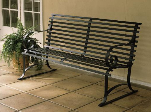 9840: Classic Park Bench (Product Detail)