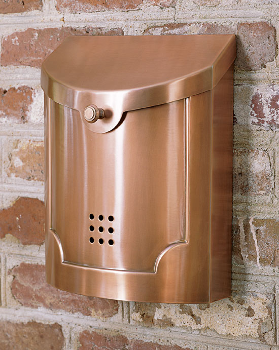 9413: Mailbox with Copper Finish (Product Detail)