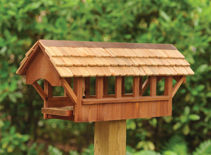 9454: Covered Bridge Bird Feeder (Product Detail)