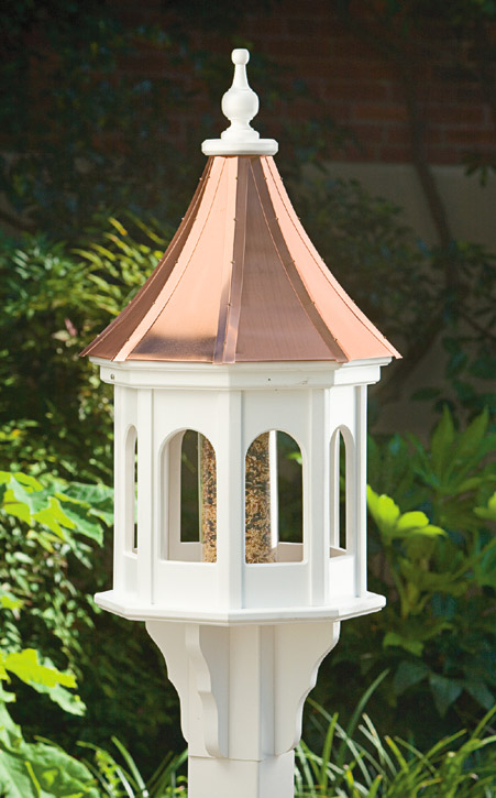 1911: Octagonal Bird Feeder with Copper Roof (Product Detail)