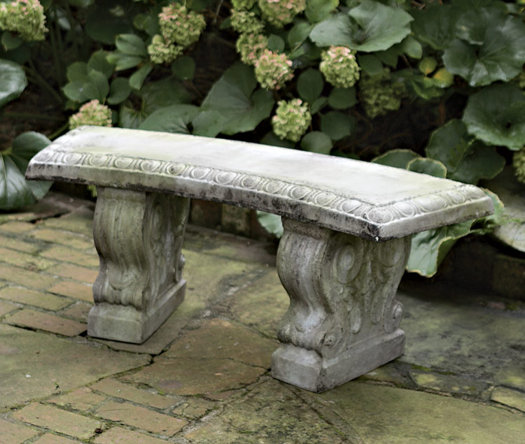 1505: Curved Bench (Product Detail)