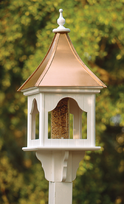 3028: Bird Feeder with Copper Roof (Product Detail)