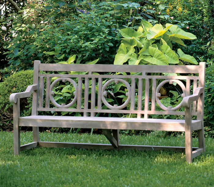 3096: Faux Bois Nottingham Bench/Three-Seater (Product Detail)
