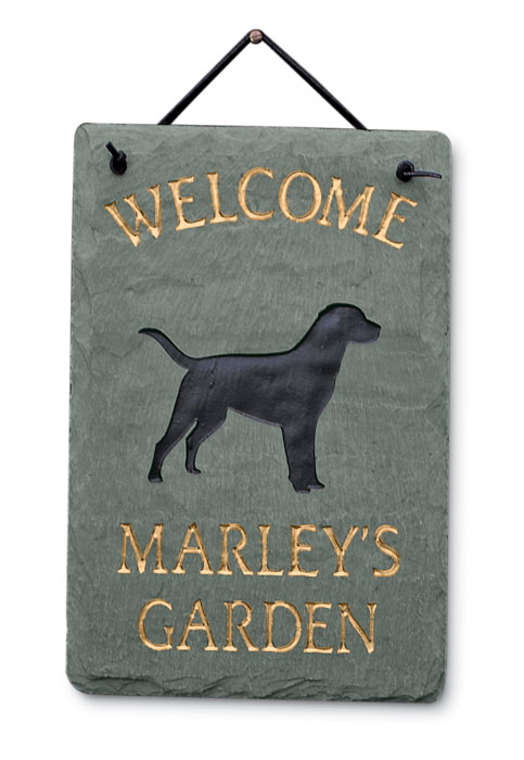 2997: Welcome Sign with Dog (Product Detail)