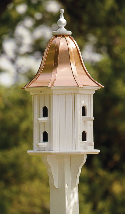 3029: Two-Level Birdhouse with Copper Roof (Product Detail)