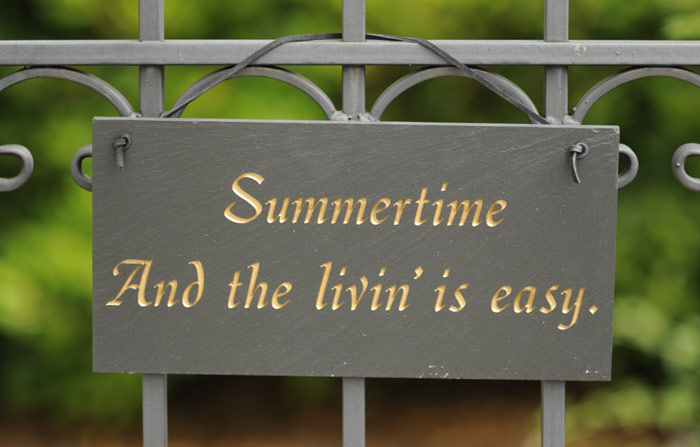 "4012: ""Summertime"" Sign (Product Detail)"