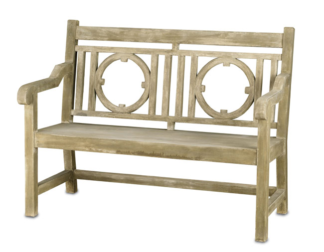4018: Faux Bois Nottingham Bench/Two-Seater (Product Detail)