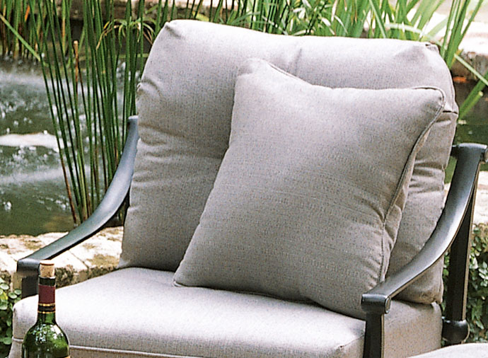 "1763: Sunbrella Linen Throw Pillow (18""SQ.) (Product Detail)"