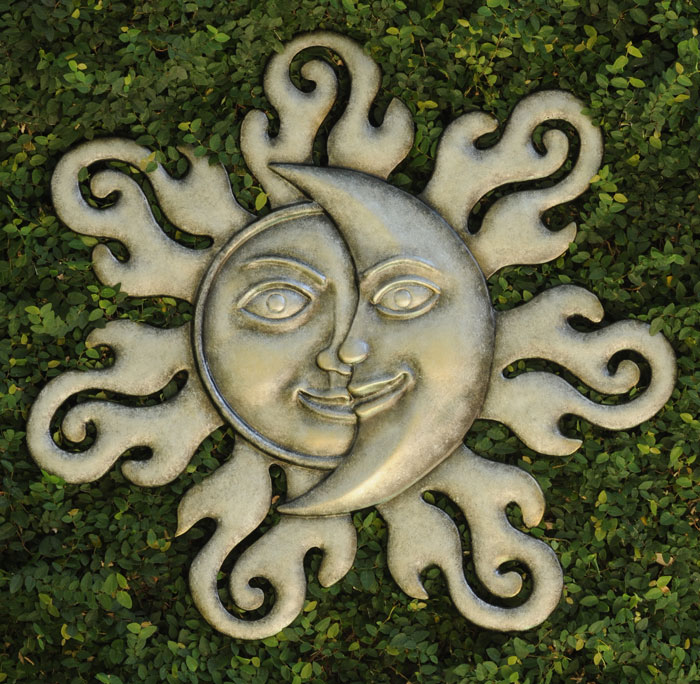4273: Sun/Moon Wall Plaque (Product Detail)