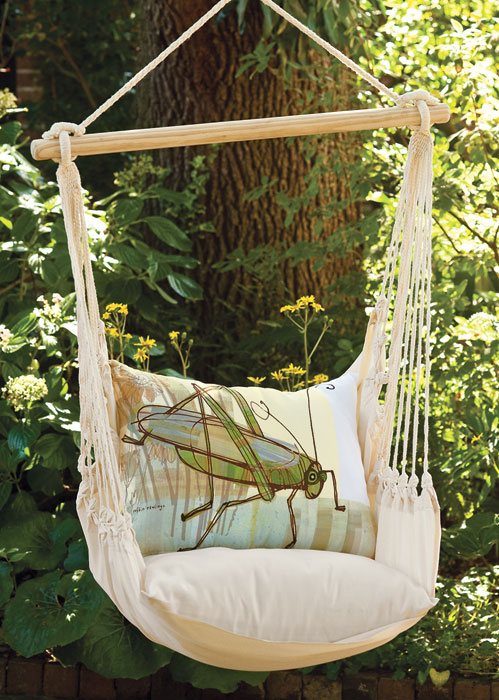 4388: Grasshopper Pillow and Swing (Product Detail)