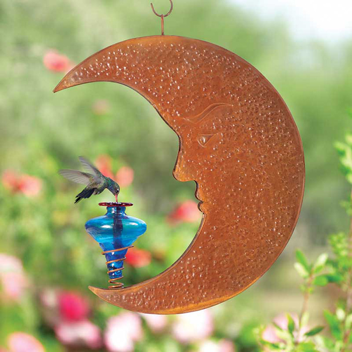 4796: Moon Hummingbird Feeder (Product Detail)
