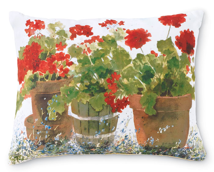 4711: Geranium Pillow  (Product Detail)