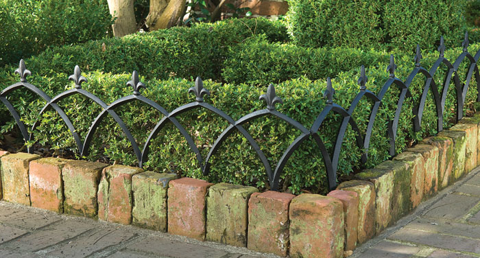 4720: Aluminum Garden Fence (Set of Four Sections) (Product Detail)