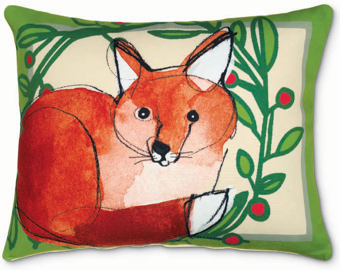 7016: Fox Pillow (Product Detail)