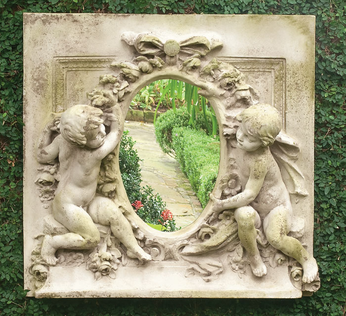 8014: Cherubs with Oval Mirror (Product Detail)