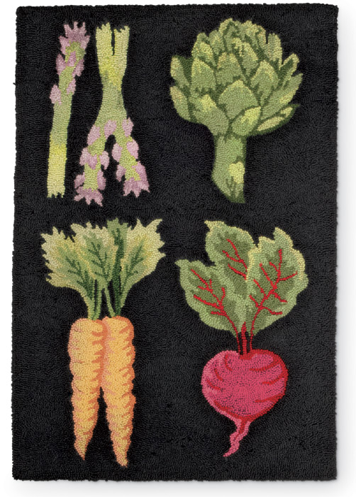 1348: Vegetable Rug (Product Detail)
