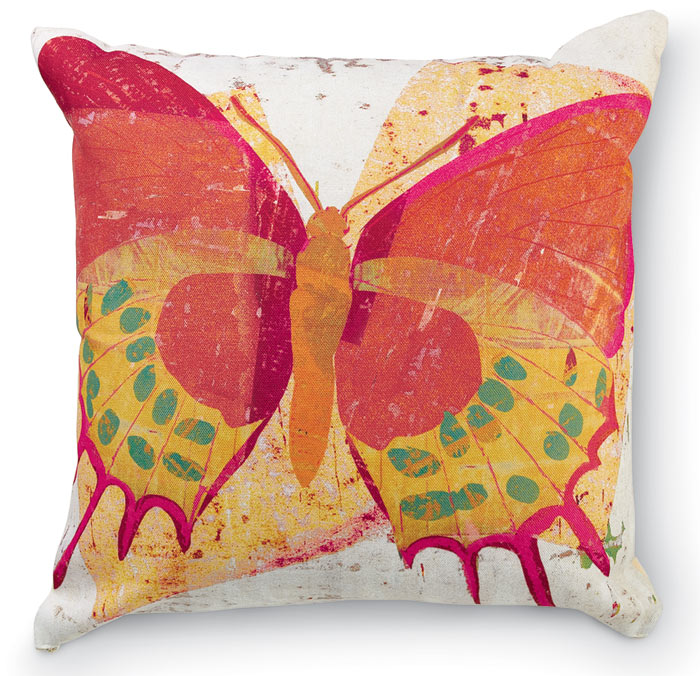 1401: Butterfly Pillow (Product Detail)