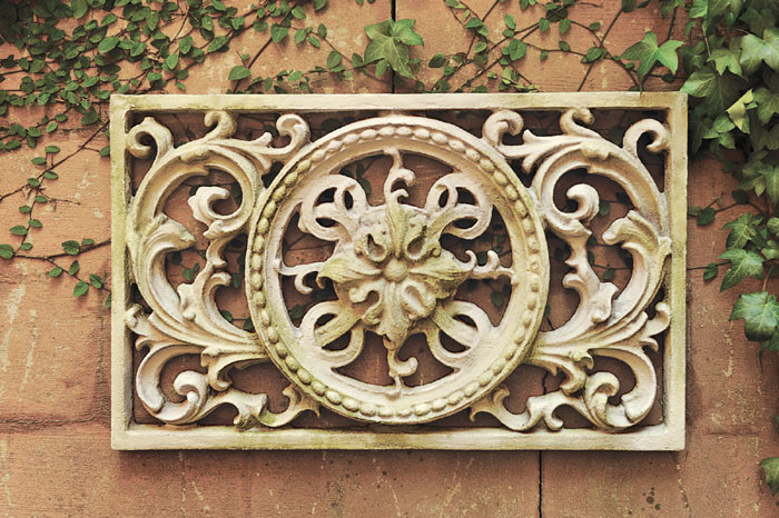 1437: Scrollwork Grille (Product Detail)
