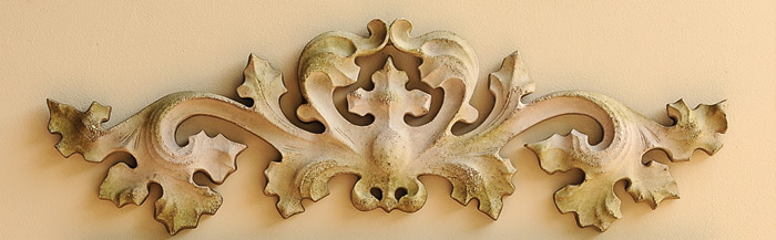 1438: Contessa Wall Carving  (Product Detail)