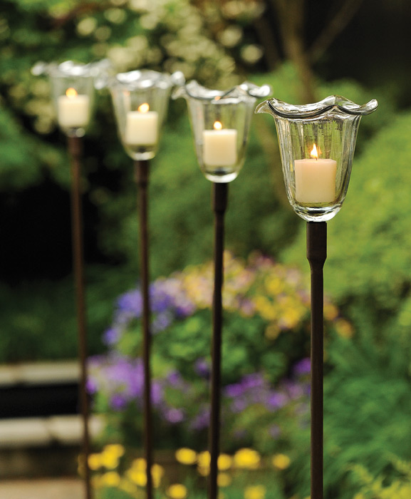 Superieur Outdoor Candle Stakes Image Antique And Victimist