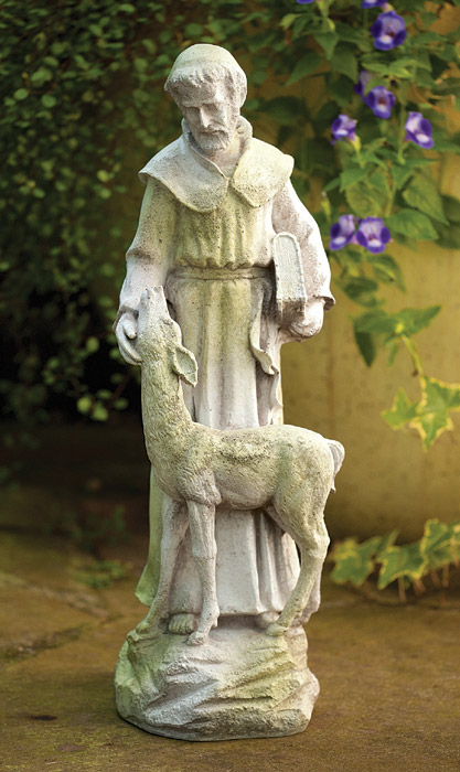 3743: St. Francis With Deer (Product Detail)