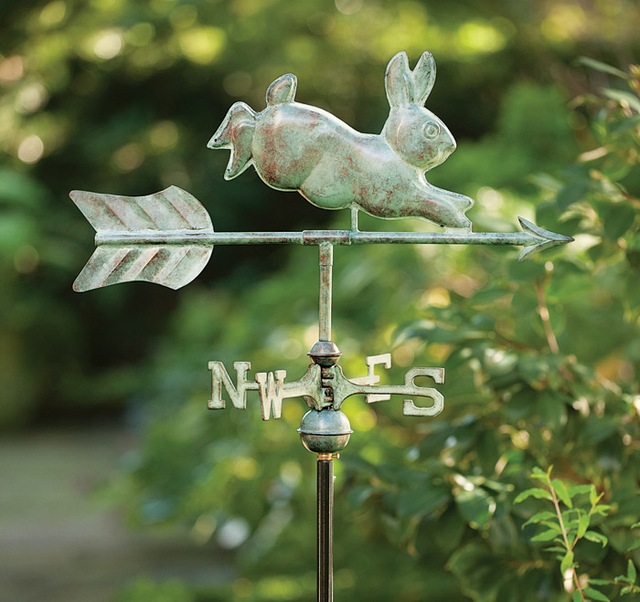 3729: Rabbit Weathervane/Roof Mount (Product Detail)