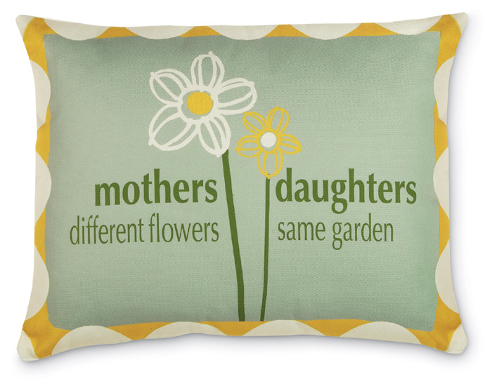 3766: Mothers/ Daughters Pillow (Product Detail)