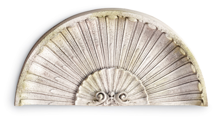 5838: Classic Scallop Wall Art (Product Detail)
