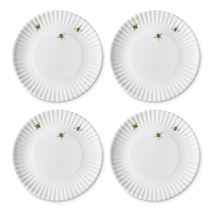 5451 Bee Plates (Set of Four) (Product Detail)  sc 1 st  Charleston Gardens : bee dinnerware - pezcame.com