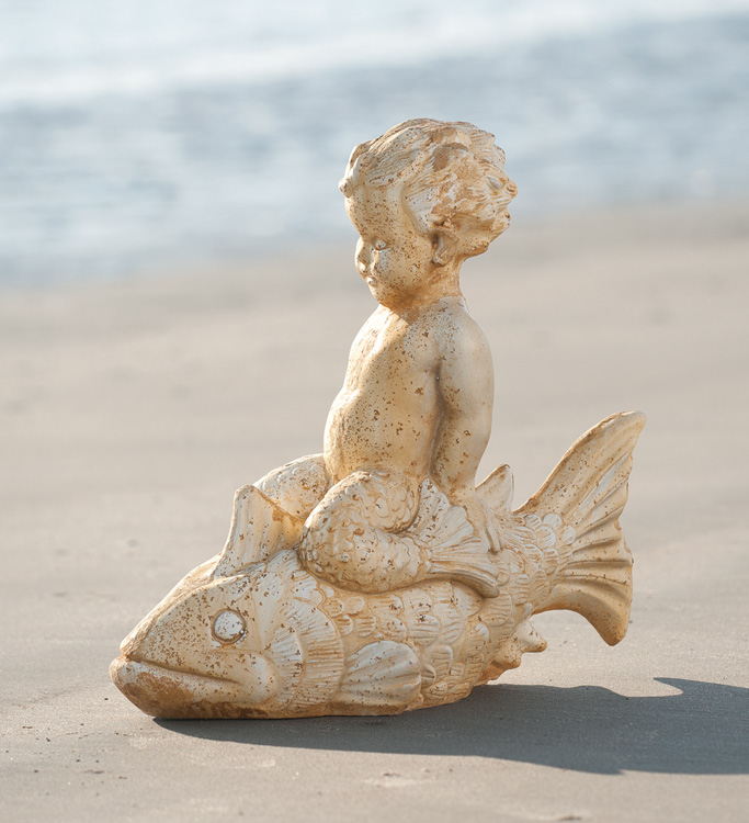 5829: Boy on Fish (Product Detail)