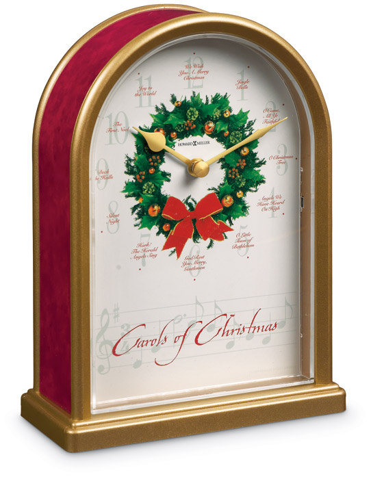 4546: Carols of Christmas Clock (Product Detail)